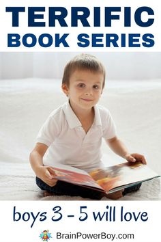 Best books series for boys 3 - 5 years old. Boys age 3, 4 and 5 will love these titles and there are plenty of books in the series to hold their interest and keep them engaged for a long time.