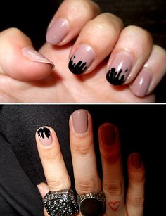 my drippy #nails
