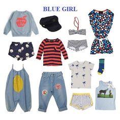 BLUE GIRL | #americanoutfitters | #minirodini | #fingerinthenose | #bobochoses