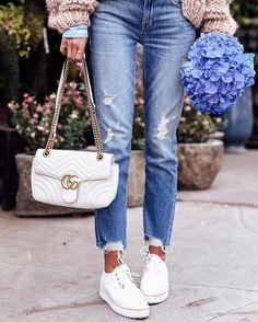 Always @gucci bag & @zimmermann oxfords #ootd #whatiwore #shoes