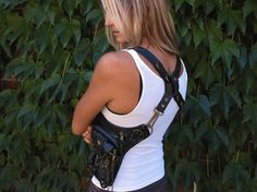 Biker purse I found on Etsy... Would definitely wear anywhere!