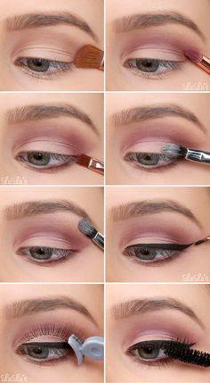Simple Eyeshadow Tutorials for Perfect Eyes - for eyeshadows . - Makeup Tutorial Foundation Simple Eyeshadow Tutorials for Perfect Eyes - for eyeshadows . Simple Eyeshadow Tutorial, Eyeshadow Tutorial For Beginners, Makeup For Beginners, Eyeshadow Tutorials, Makeup Tutorials, Simple Eyeshadow Looks, Beginner Eyeshadow, Beginner Makeup, Eye Makeup Steps
