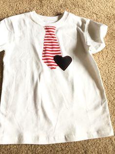 Boys Valentine's Day shirt