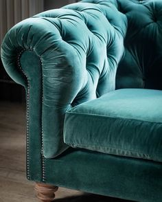 At the end of a long day what can be better than sinking into a luxuriously soft velvet sofa?