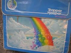 Old school - I had this exact Trapper Keeper in grade school.