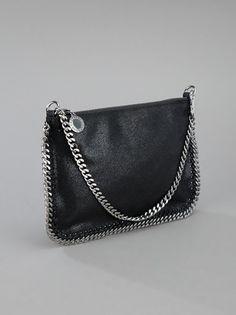 Falabella pouch clutch by Stella McCartney. $390.00, farfetch.com.