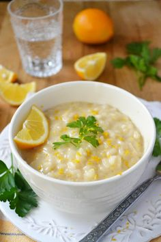 The View from Great Island | Minimal Monday: Meyer Lemon Risotto