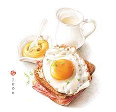《美食绘Ⅱ》,一本有幸福味道的手绘美食技...