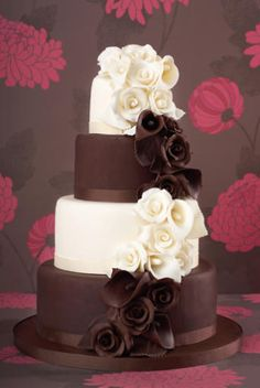 Wedding Magazine - Wedding Cakes - Chocolate Cakes                                                                                                                                                                                 More