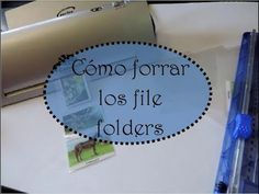 TIPS para forrar y laminar Folders, White Out, Youtube, Bias Tape, How To Make, Youtube Movies