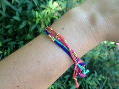 DIY Crimp bead bracelet