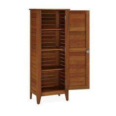 15.75 in. x 24 in. x 64.5 in. Montego Bay One Door Multi-Purpose Storage Cabinet