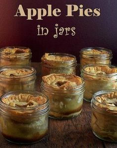 Apple Pie in Jars | Cherry Pie in Jars - Love with recipe