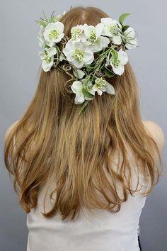 ♥ Couronne de fleurs ♥ de Lola White sur DaWanda.com