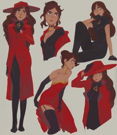 Carmen Sandiego can pull off any look, any time. Anyone who thinks otherwise can. Carmen Sandiego can pull off any look, any time. Anyone who thinks Carmen San Diego, Character Concept, Character Art, Concept Art, Animation Character, Character Sketches, Character Design Cartoon, Character Design References, Art Sketches