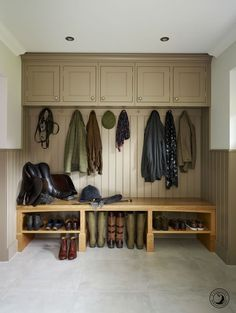 Coat, shoe and Welly storage