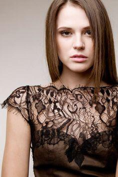 Abendkleider - Spitzenkleid Abendkleid Rückenausschnitt Blogger - ein Designerstück von secretPAL bei DaWanda