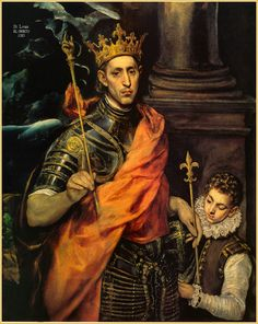 St. Louis IX, King. Now here was a great man. A man of God.