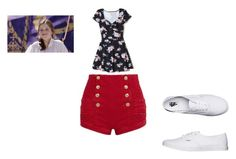 """lucy pevensie"" by hslb on Polyvore featuring Pierre Balmain, Hollister Co. and Vans"
