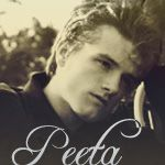 Peeta Mellark played by Josh Hutcherson in the movie. No one likes that he was cast for this part but I think he'll be great :)