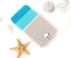 Beach Ombre Samsung S6 phone case, iPhone 6 sock, Sony Z4 sleeve, Moto G pouch, Zenfone 5 cover, Nexus 5 cozy, HTC m9, seashell phone cover