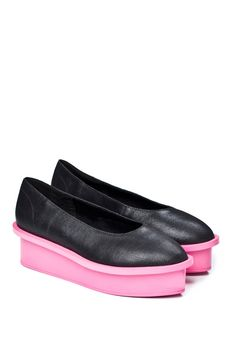 Form Ballerina Contrast Black Pink by Cheap Monday.
