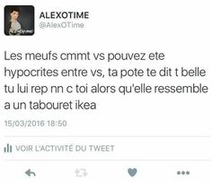 Sa c mechant Funny Texts, Funny Jokes, Hilarious, Drago Malfoy, Best Tweets, French Quotes, Funny Messages, Bullshit, Best Quotes