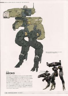 Rocketumblr | futurefanfare: Gekko Concept Art