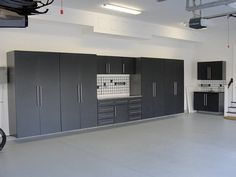The Garage - Something Big, Spacious, Bright and has lots and lots of compartments and cabinetry for tools and such.