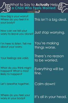 What to Say to Help a Kid Who is Worried – Counselor Keri What to Say to Help a Kid Who is Worried – Counselor Keri,Anxiety and Stress Management Resources for Kids Wondering what. Gentle Parenting, Parenting Advice, Kids And Parenting, Peaceful Parenting, Funny Parenting, Parenting Quotes, Stress Management, Behaviour Management, Vie Motivation