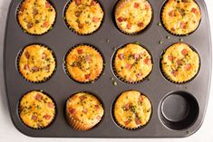 Recipe Ham And Cheddar Lunch Box Muffins Kitchn - Take The Major Players From Your Favorite Sandwich Turn Them Into A Savory Muffin And Suddenly Your Lunch Routine Is Instantly More Exciting Inspired By The Classic Combo Of Ham And Cheese These H Lunch Recipes, Breakfast Recipes, Cooking Recipes, Weekly Recipes, Ham Recipes, Breakfast Items, Breakfast Dishes, Cooking Ideas, Bread Recipes