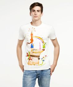 Unicorn dog t-shirt made by Selva Store