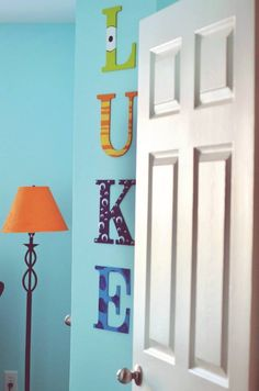 Luke's monster's inc nursery