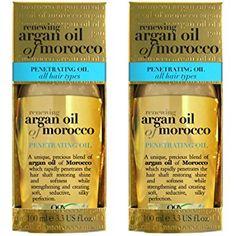 Organix Penetrating Moroccan Argan Oil for All Hair Types (100 ml)