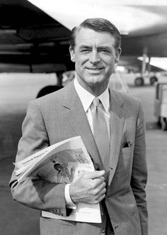 Cary Grant, love you almost as much as Gregory Peck. My daddy legit raised me watching your movies. Icon
