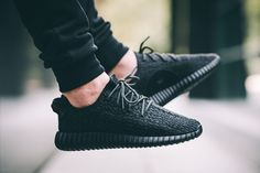 adidas Yeezy 350 Boost Pirate Black release date, retail price, retail locations, on-feet images and more. The adidas Yeezy 350 Boost Pirate Black debuts Yeezy Boost 350 Schwarz, Yeezy Boost 350 Noir, Yeezy Boost 350 Black, Yeezy 350, Tenis Adidas Yeezy, Tenis Converse, Kenye West, Men Fashion, Fashion Shoes