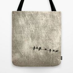 Doves, palomas Tote Bag by dissabtes - $22.00