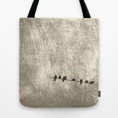 Doves, palomas Tote Bag by dissabtes - $22.00