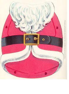 Kathleen Taylor's Dakota Dreams: Thursday Tab- Whitman Santa's Press Out Book, 1966 Christmas Paper Crafts, Christmas Books, Kids Christmas, Vintage Christmas, Father Christmas, Paper Puppets, Paper Toys, Vintage Paper Dolls, Vintage Crafts