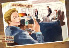 The Mentalist fan art! Cool!