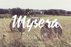 Mysera Typeface by ndroadv on @creativemarket