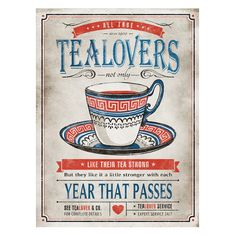 Tea Time Wall Art