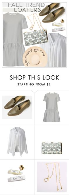 """""""Fall Footwear Trend: Loafers"""" by teoecar ❤ liked on Polyvore featuring Valentino, Herbivore, Eugenia Kim and dresslily"""