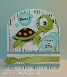 The Cricut Bug: My Craft Spot Summer Release Blog Hop Paper Punch Art, Punch Art Cards, Silhouette Cameo Cards, Create A Critter, Disney Cards, Kids Birthday Cards, Tatty Teddy, Cricut Cards, Disney Scrapbook