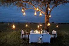 Evening garden party ideas