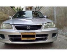 Honda City EXI Automatic Scratch Less Body model 2001 Sale In Karachi