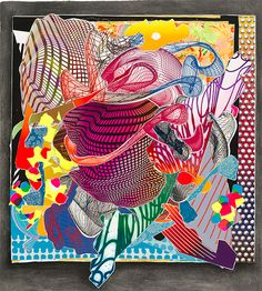 Frank Stella – Feneralia from the Imaginary places series 1994–97