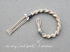 Macramé bracelet by Frey
