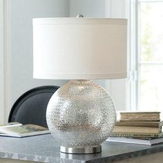 Camile Silver Table Lamp