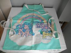 Vintage My Little Pony Apron Pinny from Mid 80's